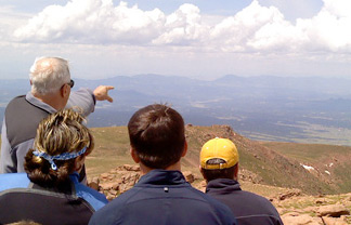 Space Foundation Education Trip to Pikes Peak
