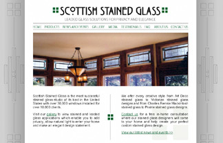 Scottish Stained Glass Website